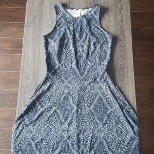 LIKE NEW - Pattern A-Line Mini Dress | S